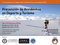 ACGM participara en Tercer Seminario de Seguridad en Montaña y Escalada 2015