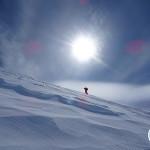 Matías Prieto rumbo a la cumbre del Cerro ACGM