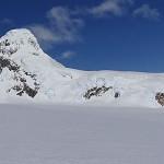Cordón Escondido del Glaciar Lucia en Campos de Hielo Sur